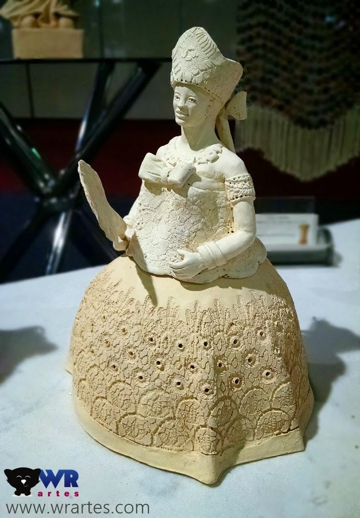 Escultura de Oxum da Bahia Mãos do Brasil