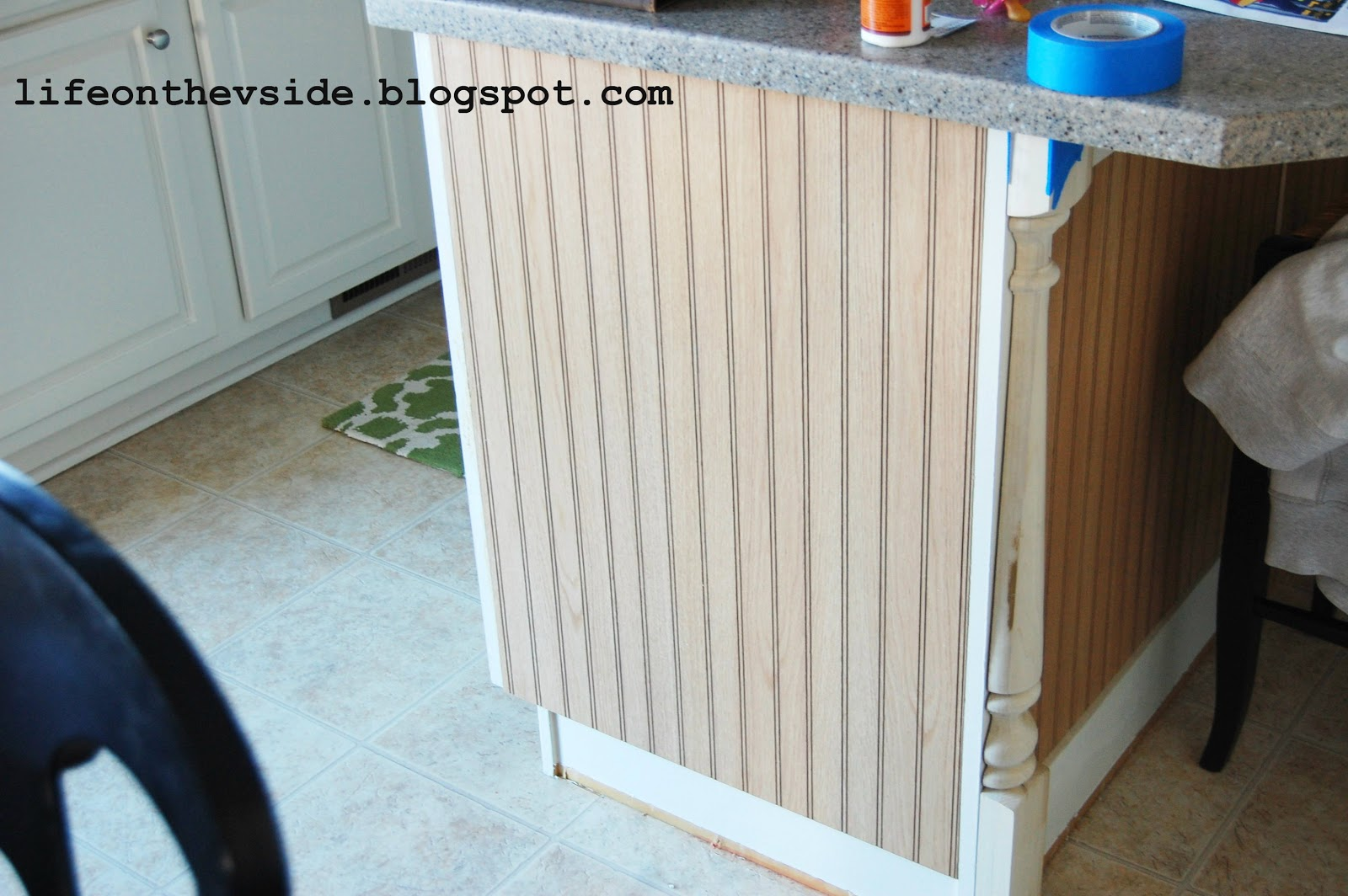 How To Beadboard Part - 40: On The V Side