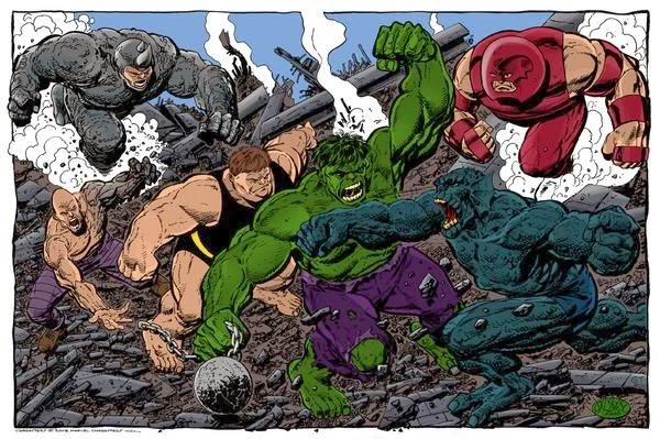 the arguments on the actual size and mass of the Hulk and Juggernaut    Hyperion Vs Juggernaut