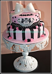2Tier Juicy Couture Cake