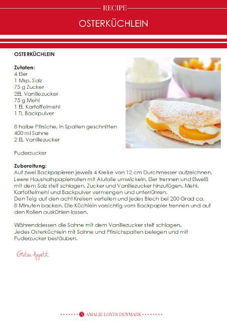 Amalie loves Denmark Rezept für Osterküchlein