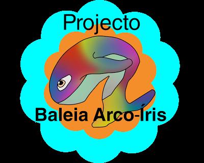 projeto baleia arco-íris
