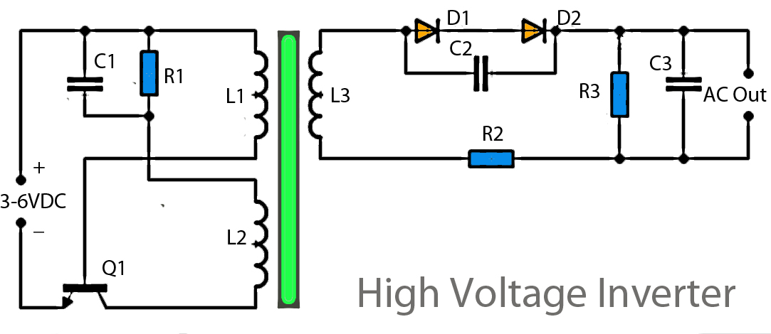 High Voltage Inverter Circuit Diagram as well Power   Super Bridge 120w By Ic Tda2030 besides Simple Crystal Tester Circuit Diagram besides Tda2005 Audio  lifier Circuits further Audio Power  lifier Circuit 140 W L31981. on tda2030 power amplifier schematics