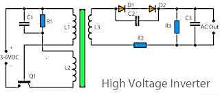 high voltage inverter circuit