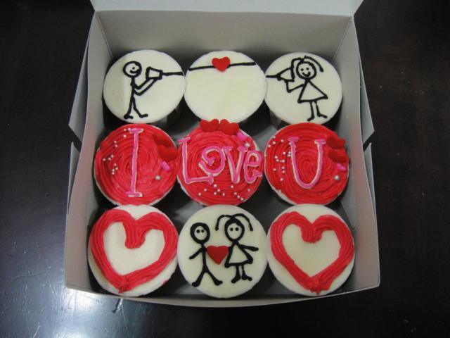 Coco Chip Cupcake, Penang: i LOVE u