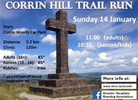 Trail race on Corrin Hill nr Fermoy...Sun 14th Jan 2018