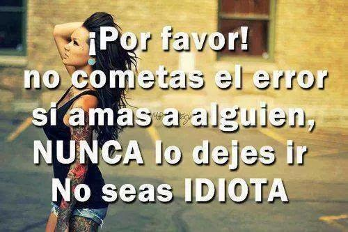 actitud mujer frase