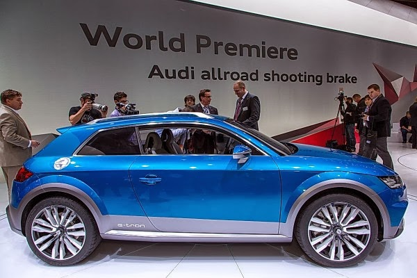 New Audi Allroad SUV from Audi
