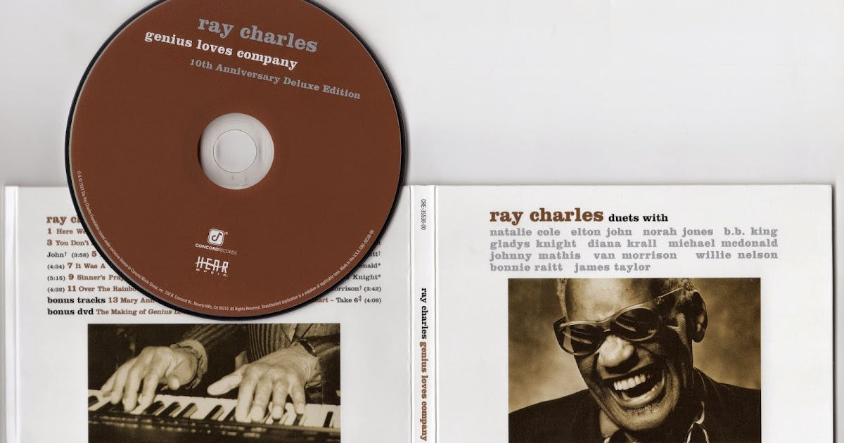 Ray Charles - Genius Loves Company - (10th Anniversary Remastered Deluxe Edition)-2014