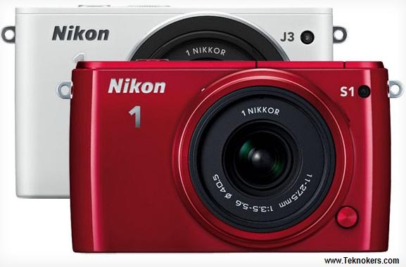 harga kamera Nikon J3 dan S1 terbaru, kamera nikon 2013 keluaran baru, gambar dan fitur camdig nikon j1 s3