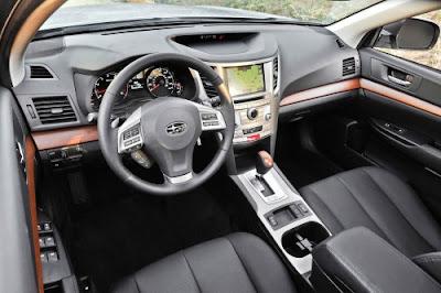 2014 Subaru Outback Wagon Interior