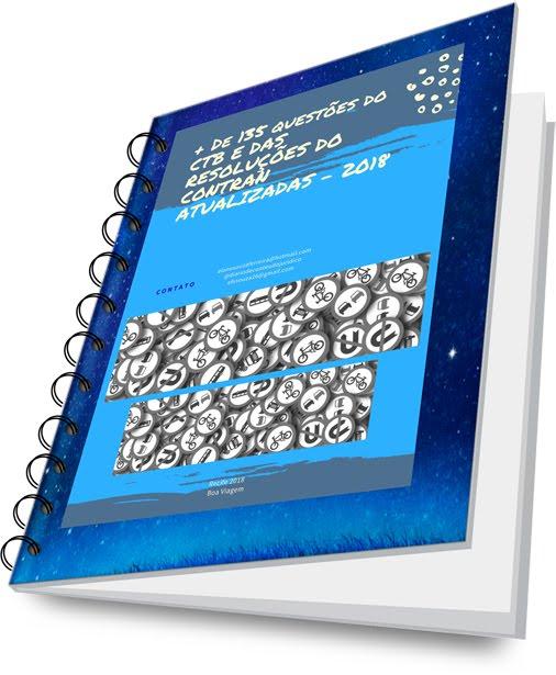 E-BOOK QUESTÕES #DETRAN E CTB