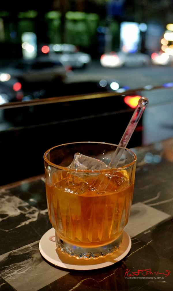 Old Fashioned made with Russell's Reserve 10 Year Bourbon at Grain Bar Sydney. Photography by Kent Johnson.