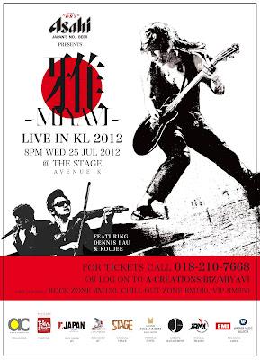 Miyavi Live In Kuala Lumpur 2012