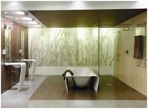 BATHTUB IN A MODERN BATHROOM DESIGN AND DECORATING IDEAS
