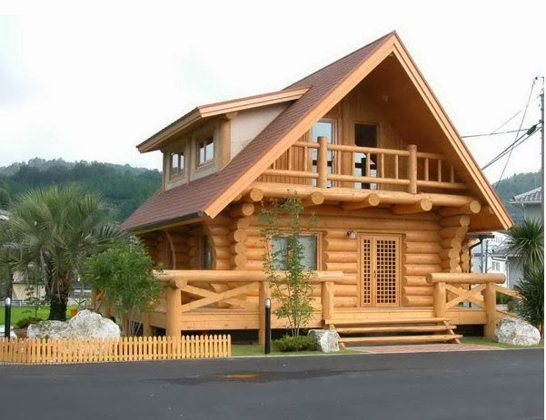 model rumah kayu minimalis dua lantai model rumah minimalis