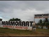 MARMORATE  MARMORIA  DO  IRMÃO EM CRISTO  NA SAIDA  DE  CAJAZEIRAS PARA  UIRAUNA PB