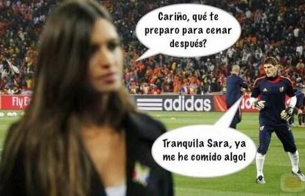 Final Champions: Real Madrid - Atlético. Humor, cachondeo, bromas, chorradas, whatsapp, chistes, guasa y memes. Fútbol final Champions League 2014, Ramos y Bale.  Iker Casillas.