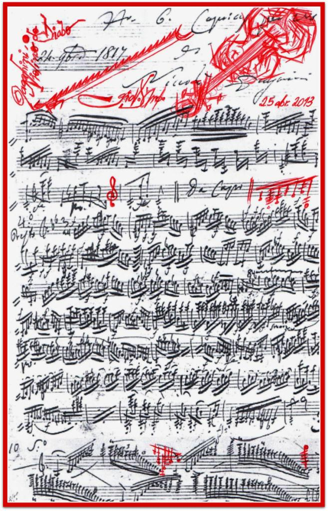 Robert Schumann - Niccolò Paganini - Fogli d'Album