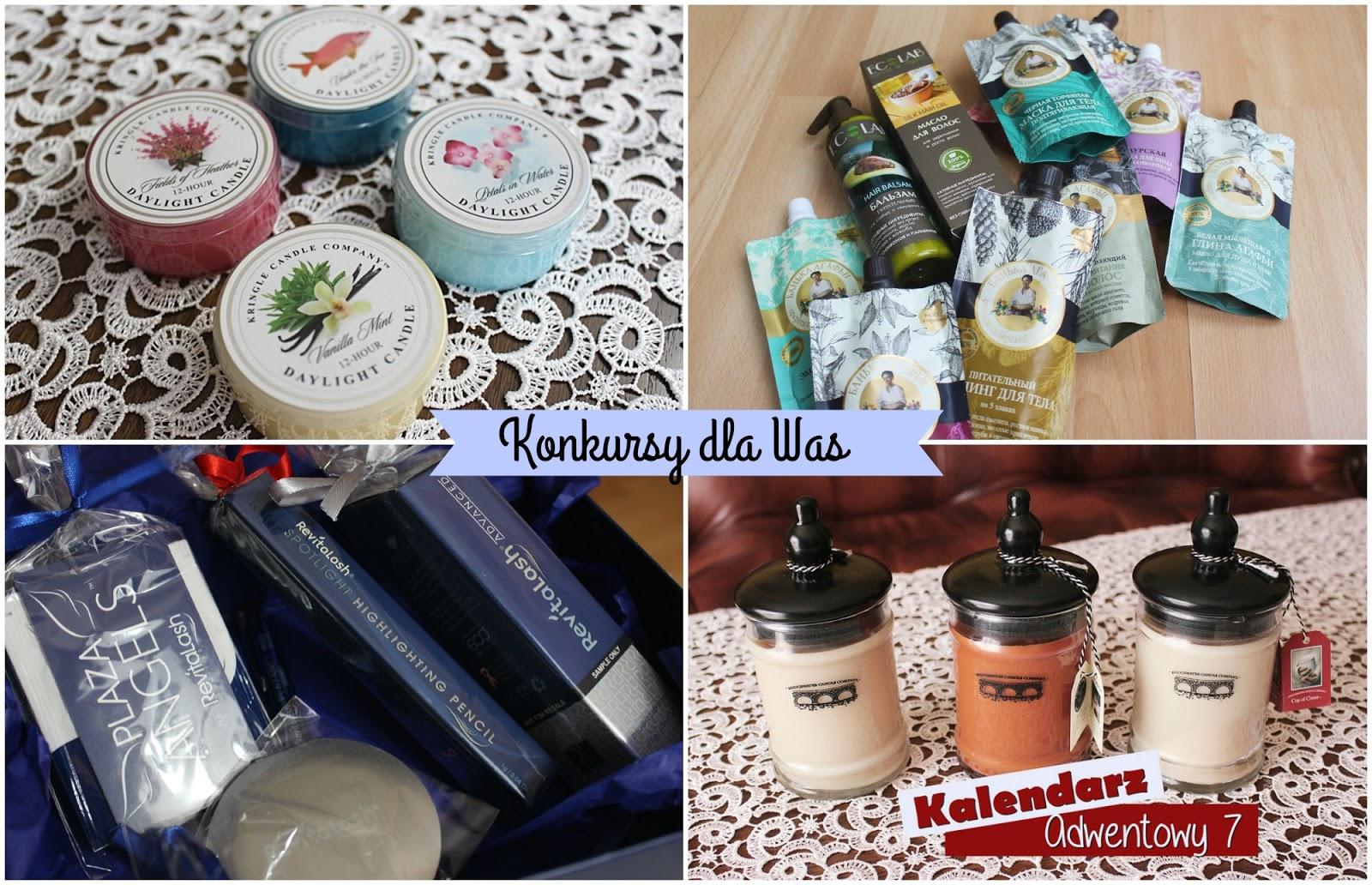 ROZDANIE | box Revitalash, rosyjskie kosmetyki, plecak i portfel oraz dwa zestawy świec