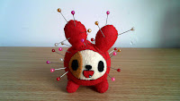 tokidoki Cactus Pup Tortellino felt plush pin cushion with Bubs B4Astudios