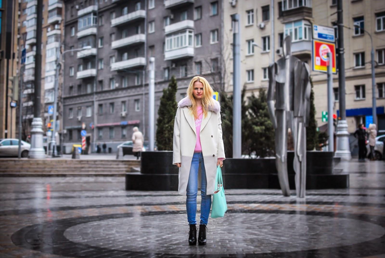 outfit, moscow fashion, pastel trend, irina pavlova