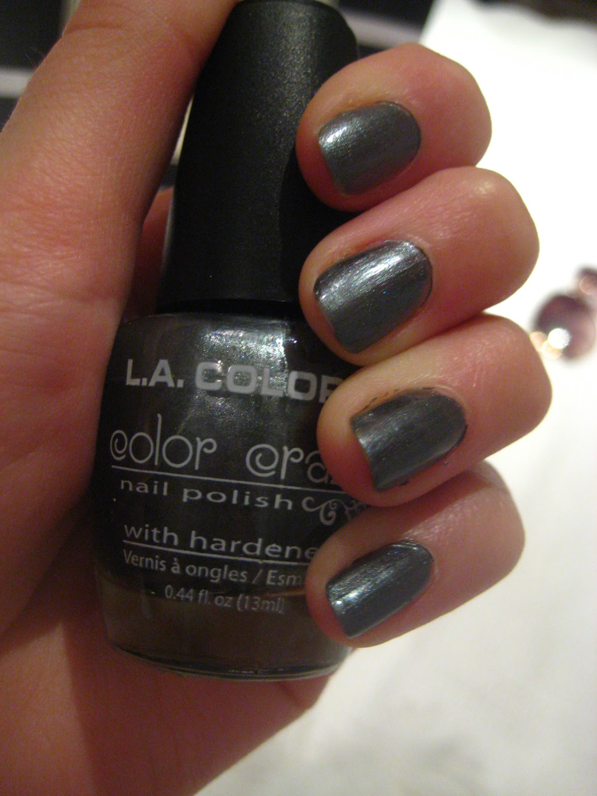 Polished Pixie: LA colors - Tropical Storm nail polish review