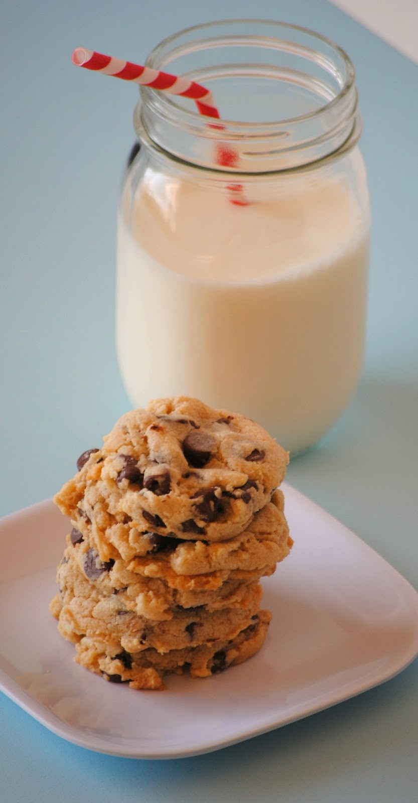 The Farm Girl Recipes: Cream Cheese Chocolate Chip Cookies