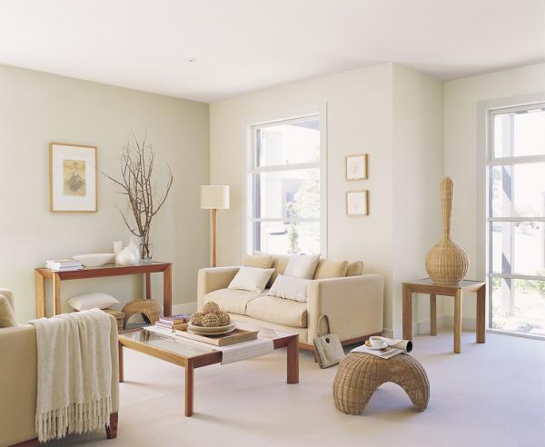 Coastal style the right white top paint picks for Neutral feature wall colours