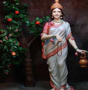 Tapasya or Tyag ki Devi Brahmacharini