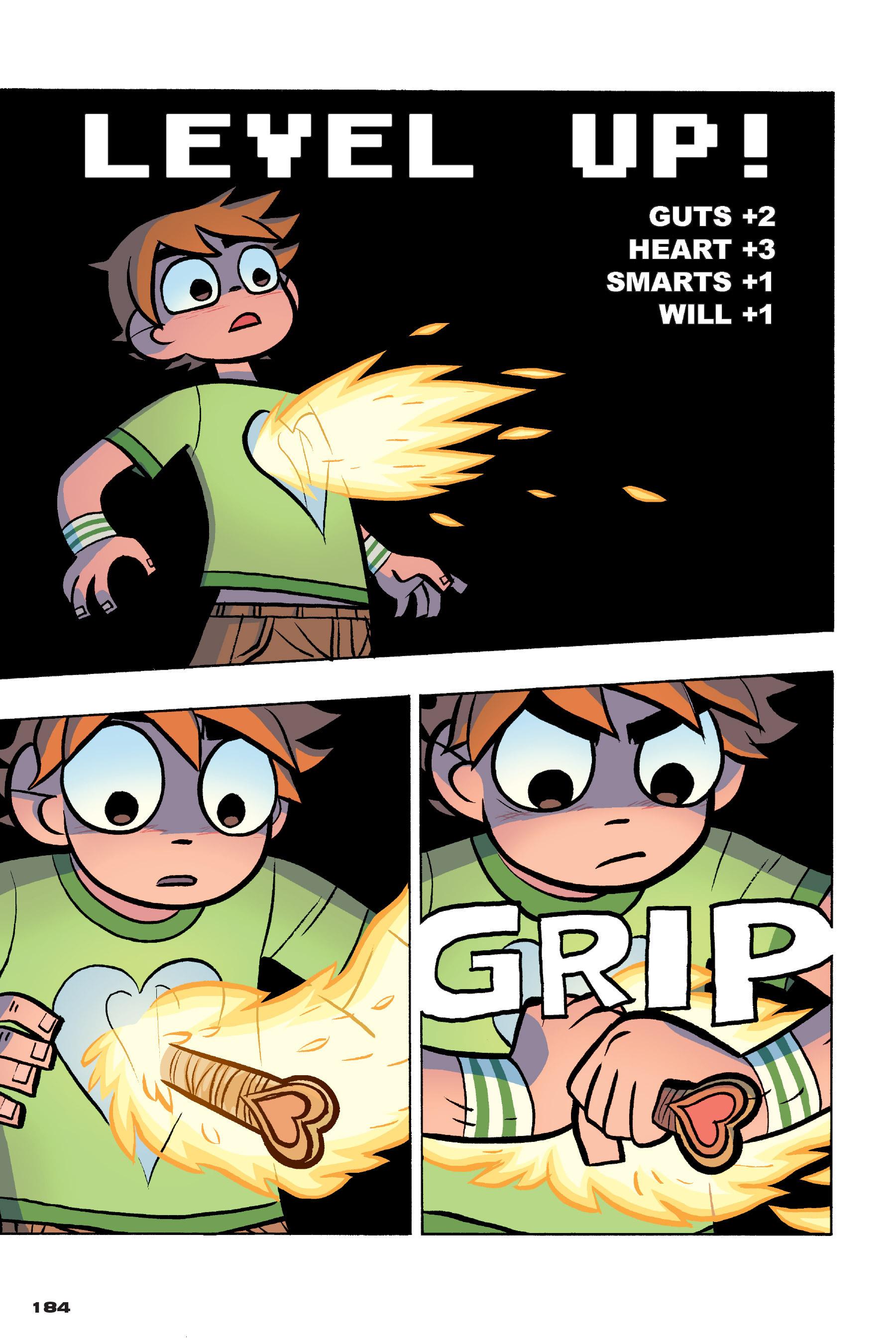 Read online Scott Pilgrim comic -  Issue #4 - 181