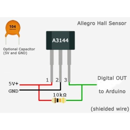 Emerging Technologies Hall Effect Sensor A3144
