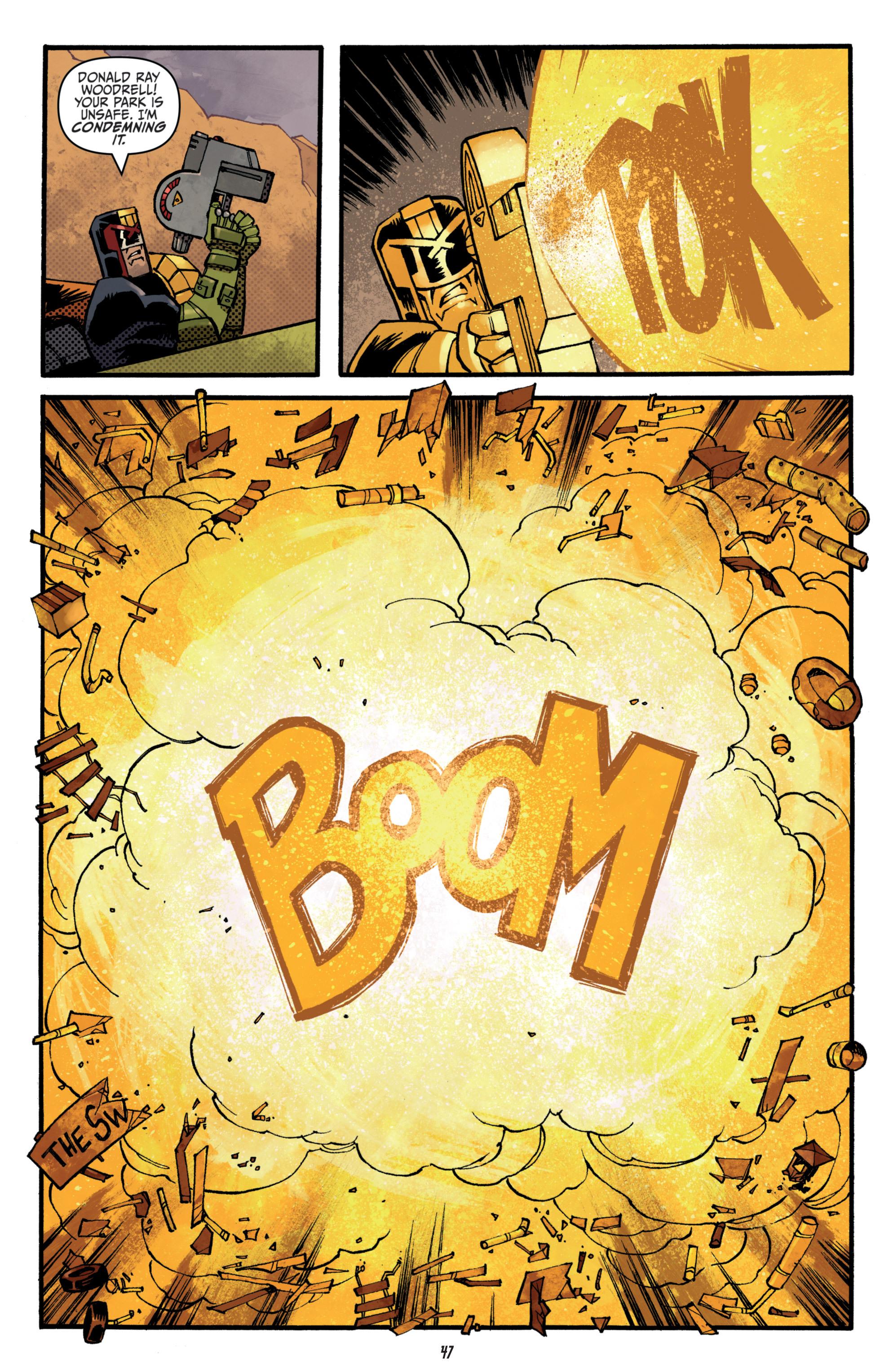 Read online Judge Dredd (2012) comic -  Issue # _TPB 3 - 47