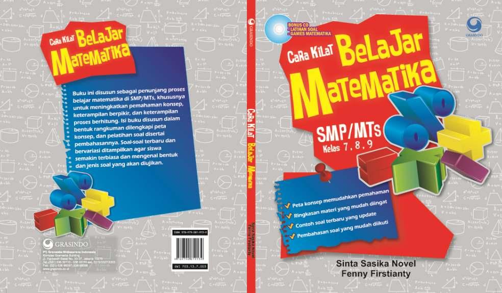 Book : Cara Kilat Belajar Matematika SMP