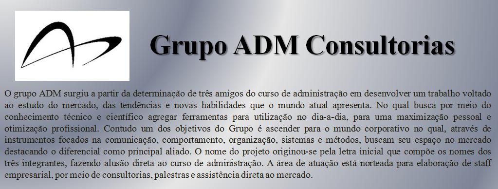 Grupo ADM Consultorias