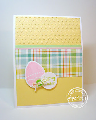 Happy Easter card-designed by Lori Tecler/Inking Aloud-stamps and dies from SugarPea Designs