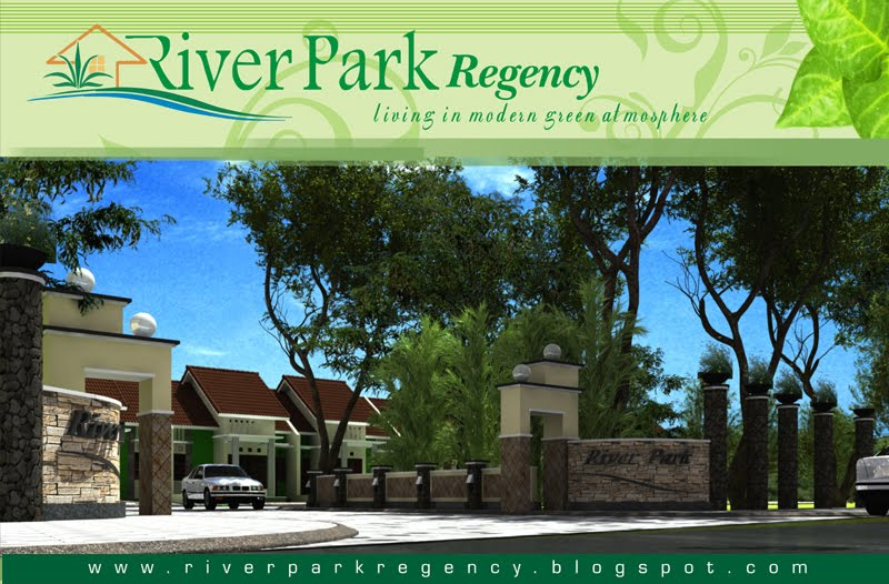 RIVER PARK REGENCY Malang Rumah Dijual Tepi Jalan Provinsi Modern Minimalis