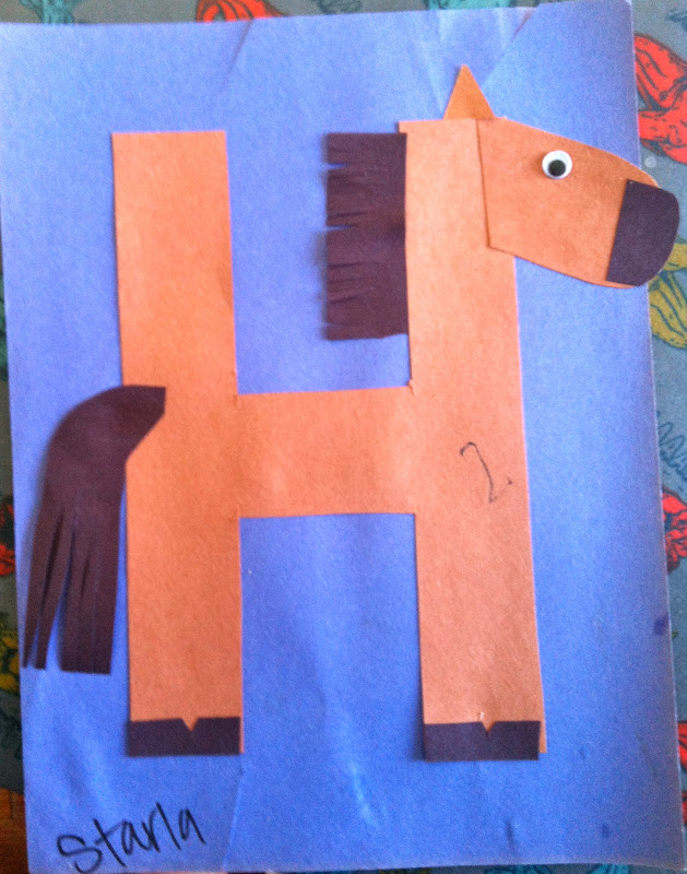 letter h template preschool miss maren s monkeys preschool 422