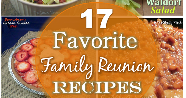 Family reunion salad recipes