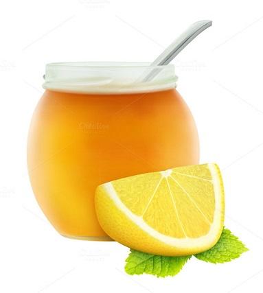 Lemon Slices In Honey