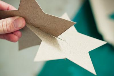 estrellas navideñas manualidades