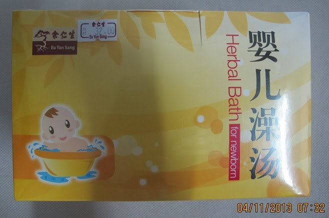 Mama Brenda\'s Garage SALE: Eu Yan Sang Post Natal Herbal Bath for Baby
