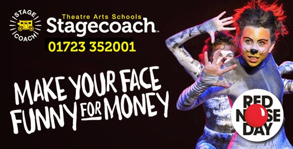 Stagecoach Scarborough Make Your Face Funny For Money