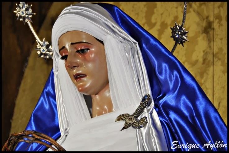 Virgen de los Desamparados de San Esteban vestida de hebrea 2014
