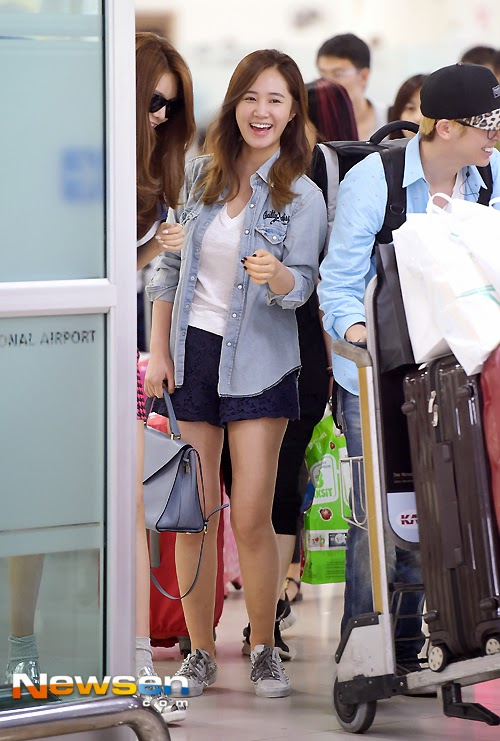 Yuri airport fashion