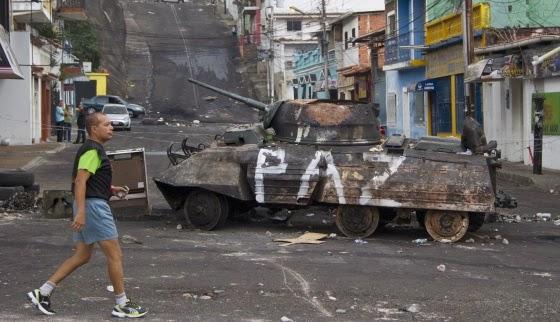 En Venezuela ocho muertos y cientos de heridos durante los disturbios