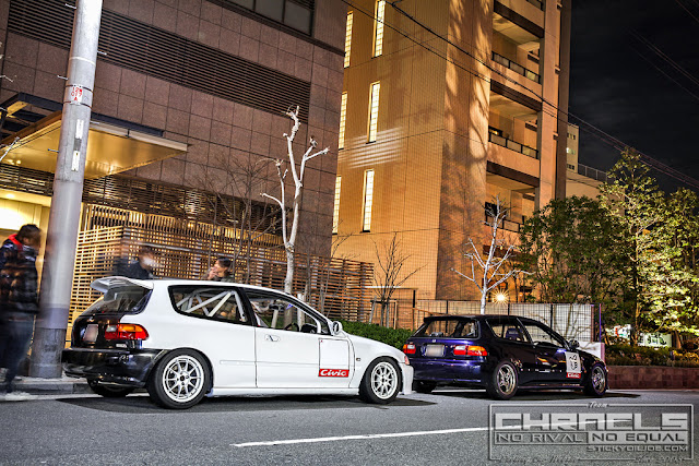 Honda Civic, nielegalne wyścigi, Kanjo, Japonia