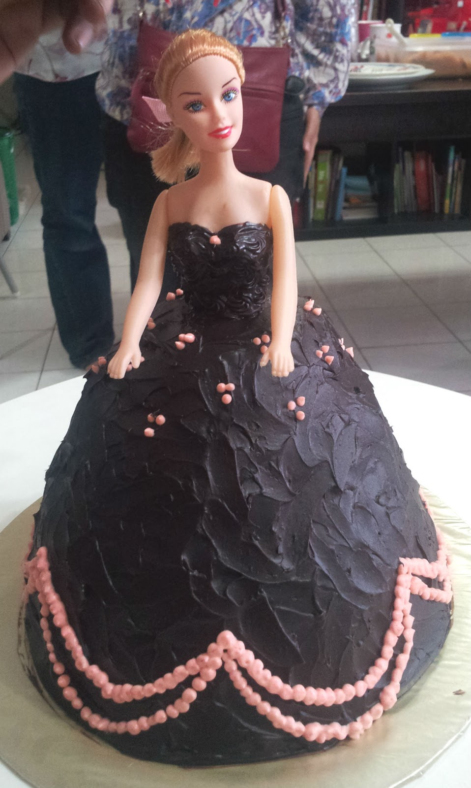 Made By Shas 1st Attempt At Making A Doll Cake