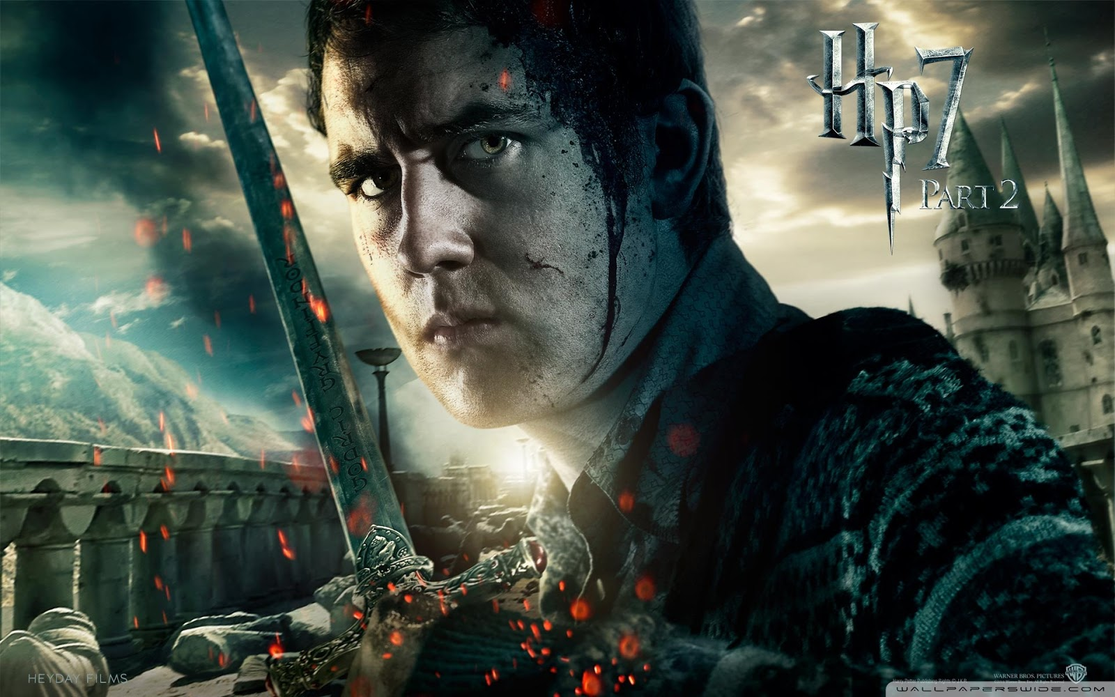 Harry Potter and the Deathly Hallows Part 2 Neville Wallpaper