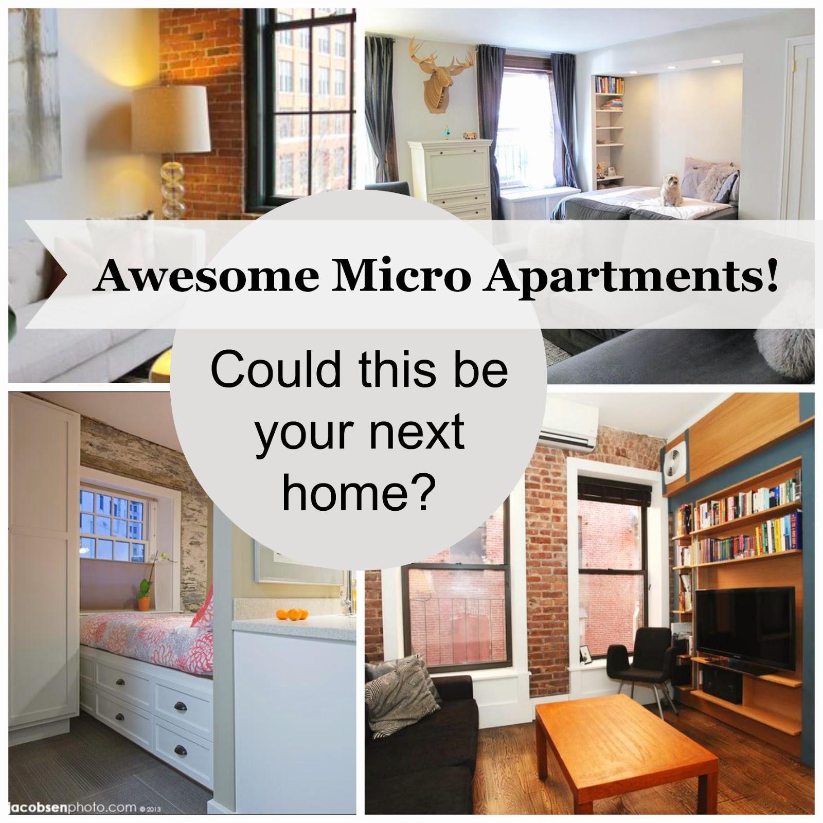 The Tiny Apartment Trend